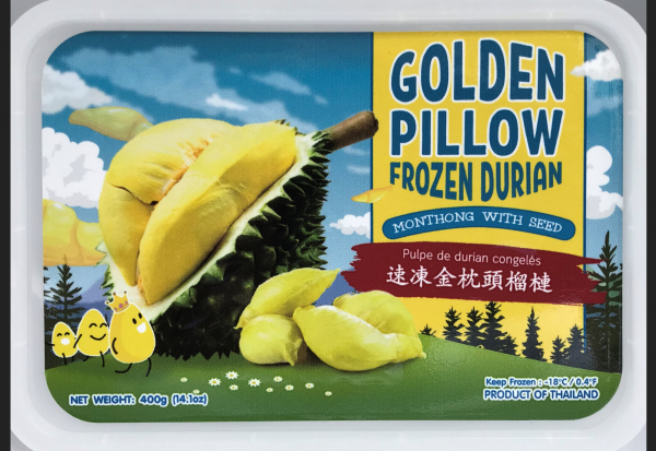 FROZEN DURIAN MEAT SEED/SEEDLESS
