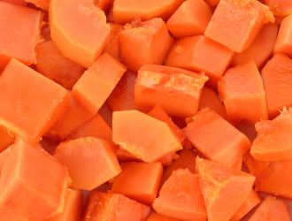PAPAYA DICED